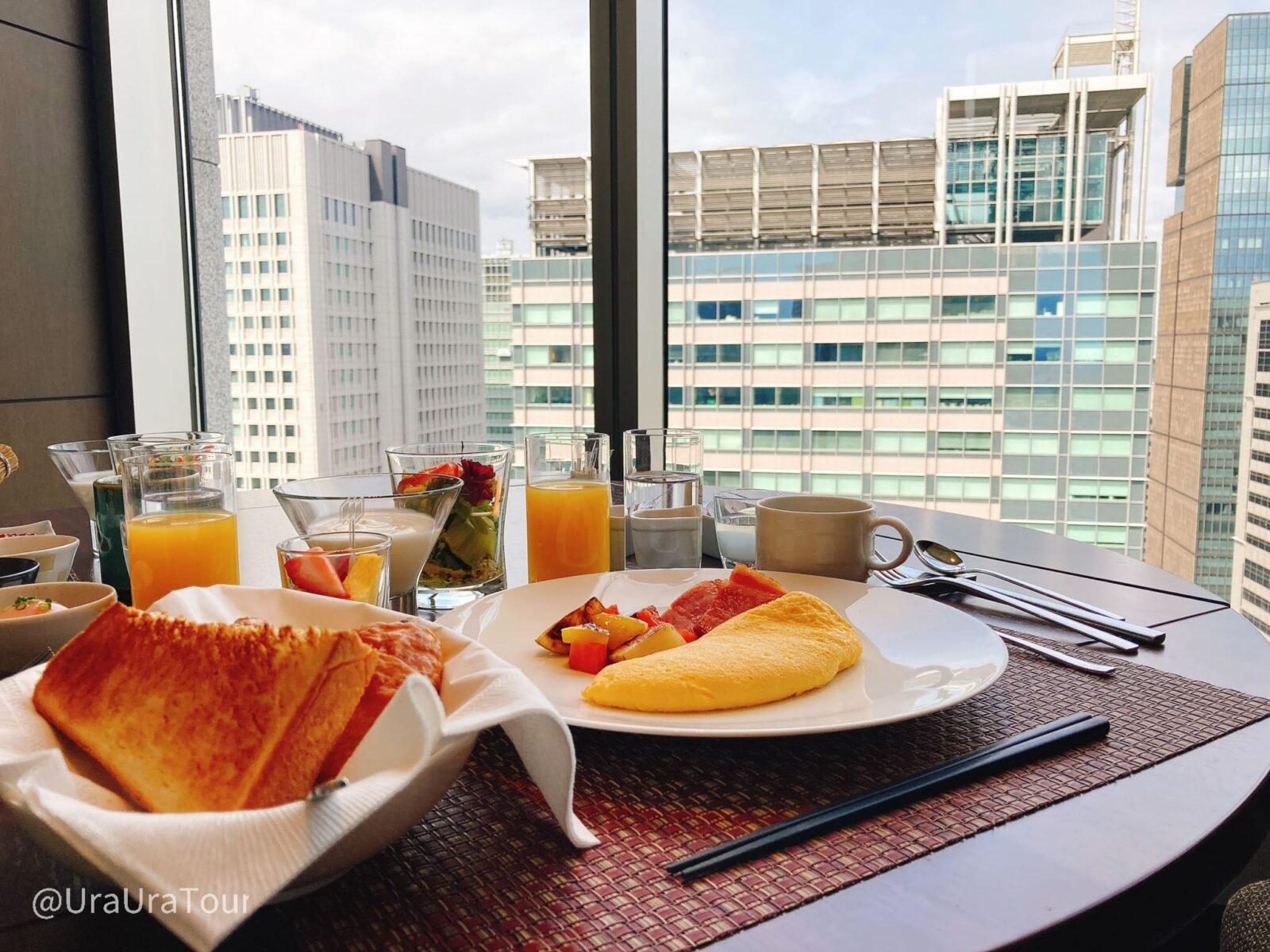 週末朝のオフィス街って知ってる!?都心の朝さんぽと地上120mの優雅な朝食♪【朝活サイクリング】