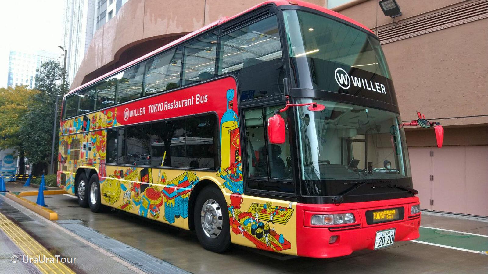 【9/18~運行再開】東京レストランバス ヨーロピアンメニューランチコース